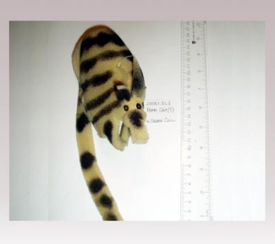 HannI Sager, Cat, Black Striped (foam)